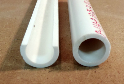 how to cut 2 pvc pipe straight